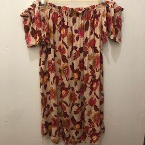 Primark Bardot Strapless Dress
